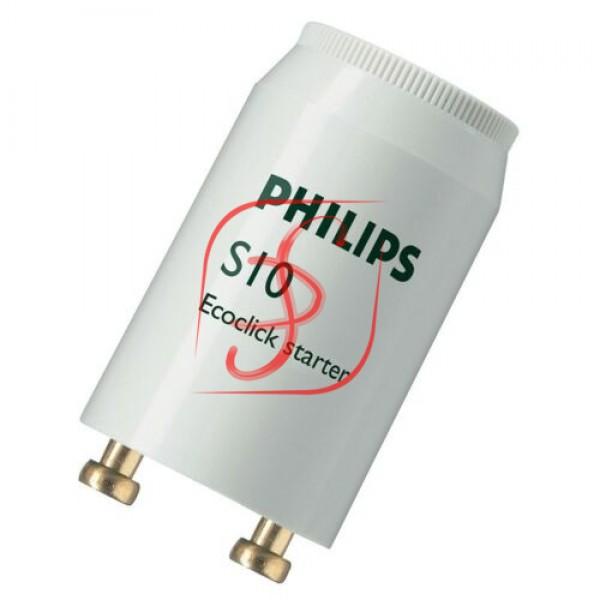 PHILIPS  S10 220V 4W-65W (пром. упак.) стартер