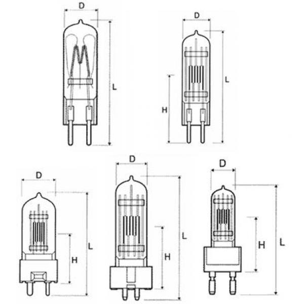 Лампа КГМ 15-150 64633 (цоколь - G6,35)Лампа КГМ 15-150 6463394,86