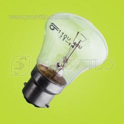 Лампа С 110(127)-25 (цоколь - B22d)