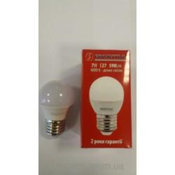 """Лампа LED """"Prosvitlo"""" C37 7W 220V Е27 4000 К"""