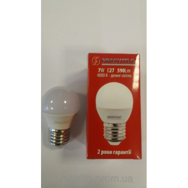 "Лампа LED ""Prosvitlo"" C37 7W 220V Е27 4000 КPS-LED-C202/W50,82"